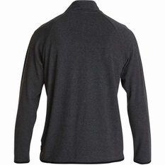 Quiksilver Men's Tech Long Sleeve Top Charcoal Heather S, Charcoal Heather, bcf_hi-res