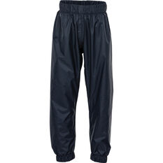 OUTRAK Kids' Packaway Rain Pants Night 4, Night, bcf_hi-res