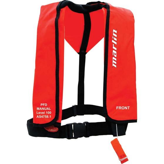 Marlin Australia Adult Manual Inflatable PFD 100, , bcf_hi-res
