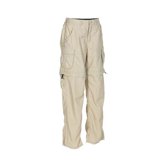 OUTRAK Convertible Kids' Hiking Pants, Cement, bcf_hi-res