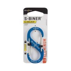 Nite Ize S Biner SlideLock Aluminium No.3  Blue, , bcf_hi-res