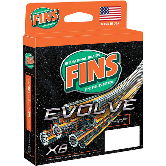 Fins Evolve Braid Line 150yds, , bcf_hi-res
