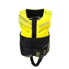 Childrens Motion Neo PFD 50 Suits 12-25kg Yellow, Yellow, bcf_hi-res