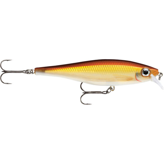 Rapala BX-Minnow Hard Body Lure 10cm Gold Shiner 10cm, Gold Shiner, bcf_hi-res