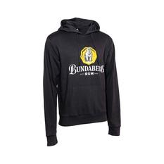 Bundaberg Rum Men's Fleece Hoodie, Dark Grey, bcf_hi-res