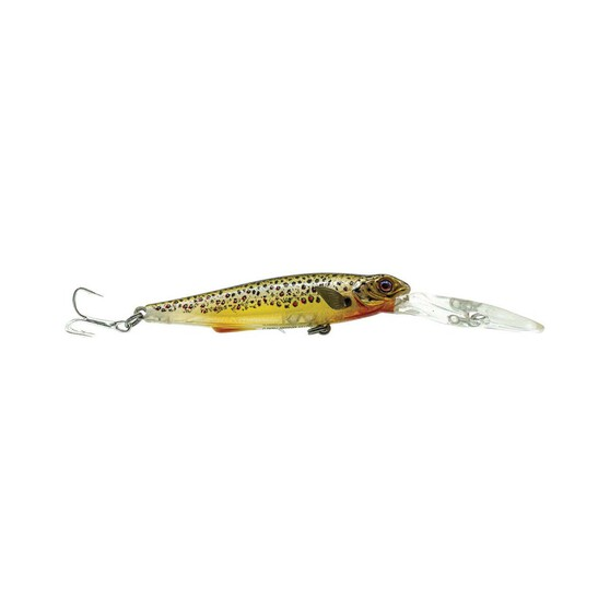 Chasebaits Gutsy Minnow Deep Lure 80mm Brown Trout, Brown Trout, bcf_hi-res