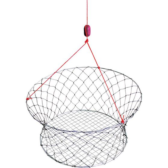Ready Rigged Wire Base Crab Net  61cm, , bcf_hi-res