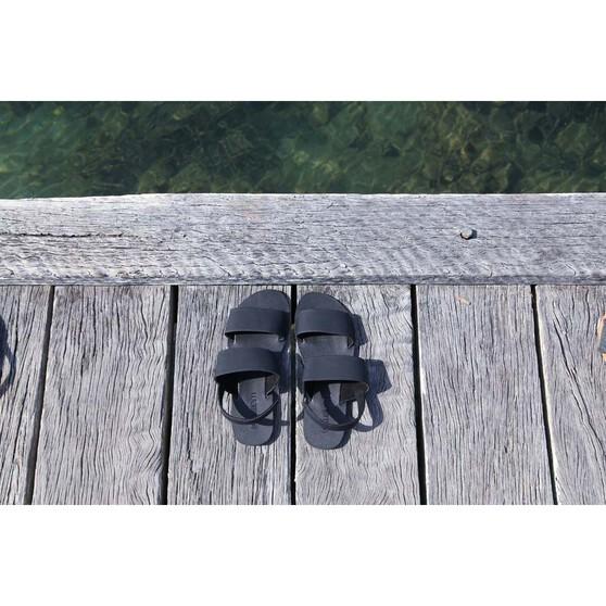 KUSTOM Women's Shanty Sandal Black 9, Black, bcf_hi-res
