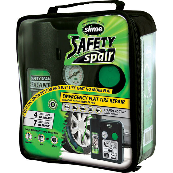 Slime Safety Spair Tyre Inflator - 12V, , bcf_hi-res