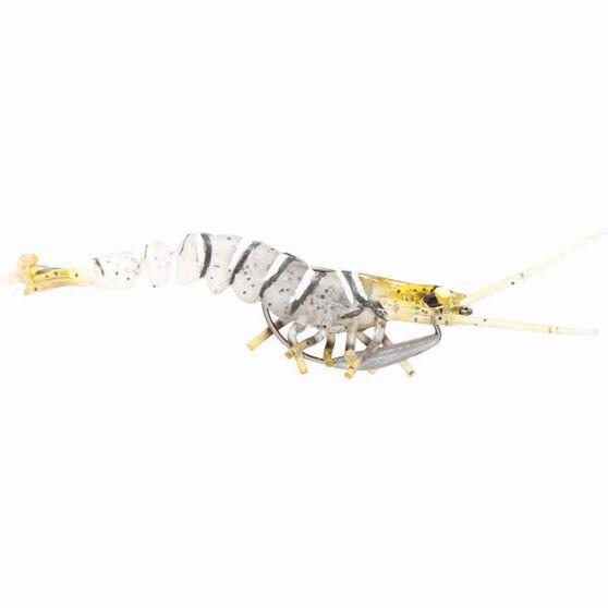 Savage 3D Shrimp Soft Plastic Lure 5in Zebra, Zebra, bcf_hi-res