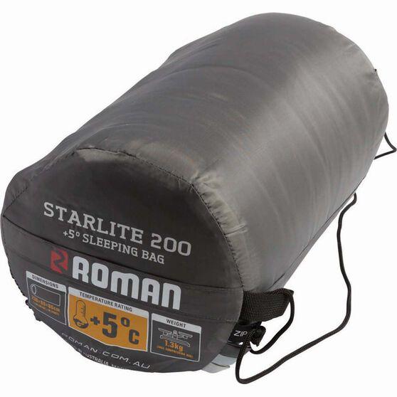 Roman Starlite 200 Hooded Sleeping Bag, , bcf_hi-res