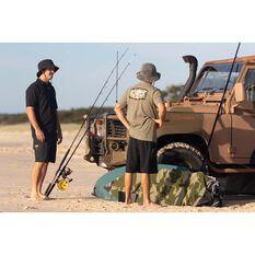 Quiksilver Waterman Men's Pacific Road Tee Green S, Green, bcf_hi-res