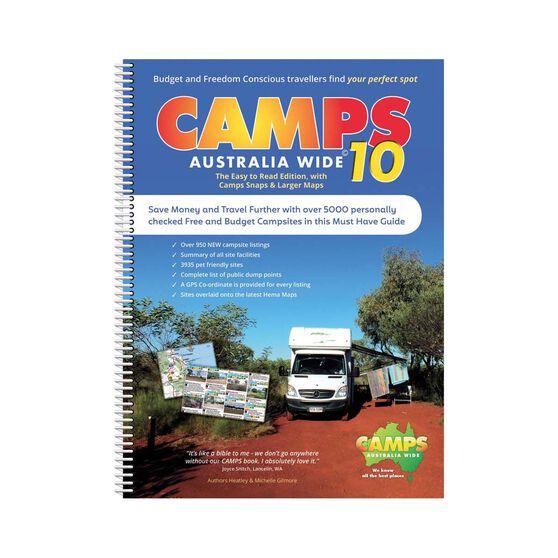 Hema Camps 10 Australia Wide Snap Book, , bcf_hi-res