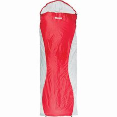Starlite Hooded Sleeping Bag - 0 to 4, Red & Black, , bcf_hi-res