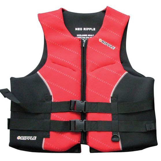 Ripple Adult Neo PFD 50, Red, bcf_hi-res