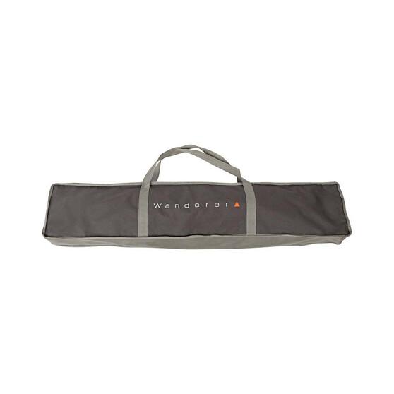 Wanderer Flinders Premium Camper X-Leg Stretcher Deluxe Single, , bcf_hi-res