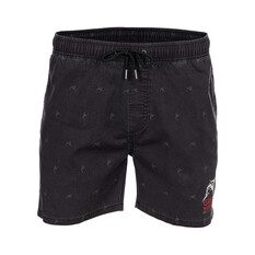 The Great Northern Brewing Co. Men's Printed Volley Shorts, Black Print, bcf_hi-res
