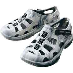 Shimano Men's Evair Aqua Shoes Grey / Camo 8, Grey / Camo, bcf_hi-res