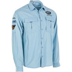 BCF Men's Long Sleeve Fishing Shirt Spray S, Spray, bcf_hi-res