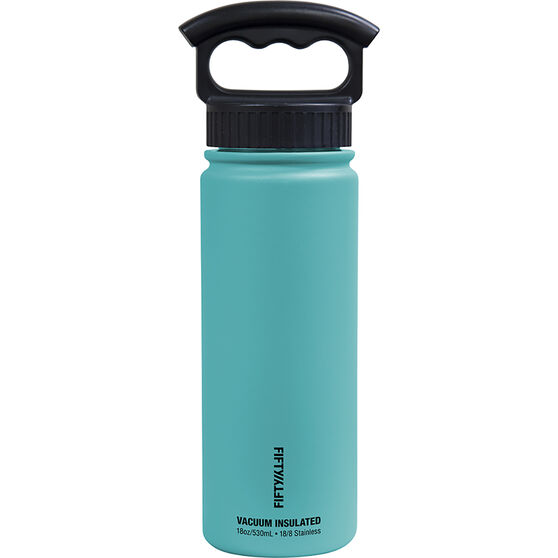 Fifty Fifty Insulated Drink Bottle 530ml, , bcf_hi-res