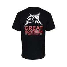 The Great Northern Brewing Co. Men's Short Sleeve Tee, Black, bcf_hi-res
