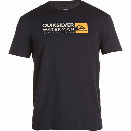 Quiksilver Waterman Return to Forever Tee, Black, bcf_hi-res