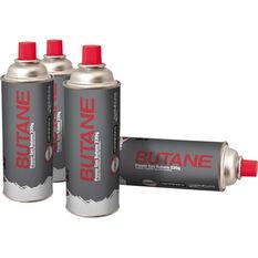 Butane Gas Can 220g 4 Pack, , bcf_hi-res