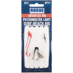 Rogue Weighted Light Surf / Beach Paternoster Rig, , bcf_hi-res