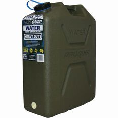 Pro Quip Water Carry Can - 22 Litre, Green, , bcf_hi-res