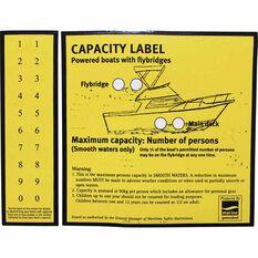 Capacity Flybridge Boat Sticker, , bcf_hi-res