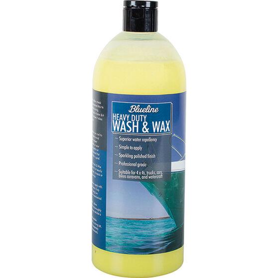 Blueline Heavy Duty Wash N Wax 1L, , bcf_hi-res