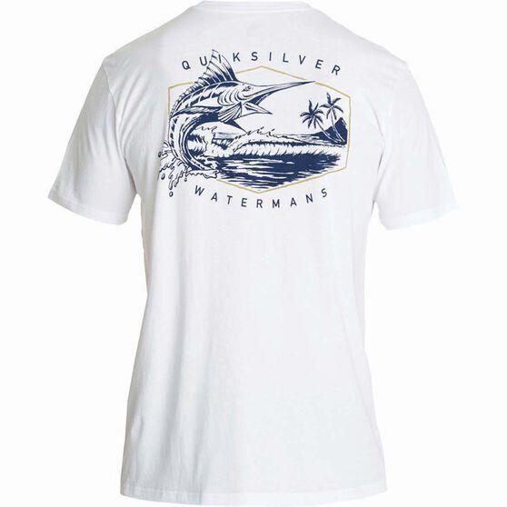 Quiksilver Men's The Jumper II Tee White XL Men's, White, bcf_hi-res