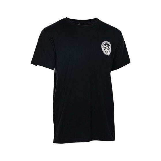 The Mad Hueys Men's Reel UV Short Sleeve Tee, Black, bcf_hi-res