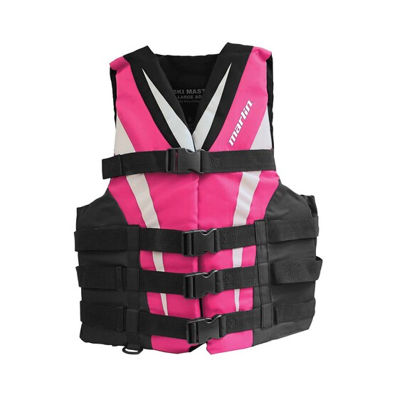 Marlin Australia Adult Ski Master II 50S PFD, Pink, bcf_hi-res