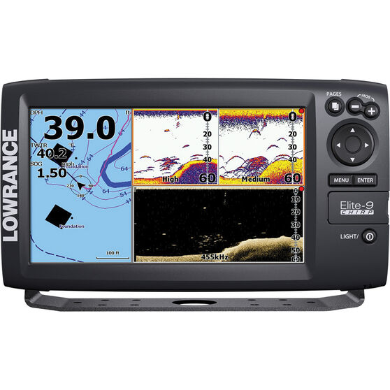 Ex-Demo Lowrance Elite 9 CHIRP (Head Unit Only), , bcf_hi-res