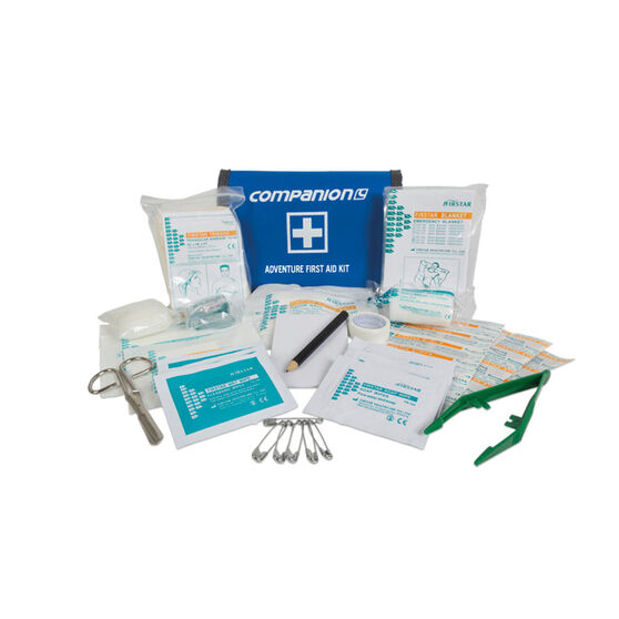 Adventure First Aid Kit 63 Pieces, , bcf_hi-res