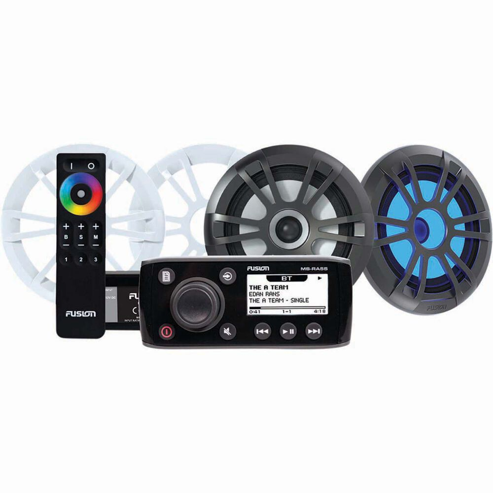 Fusion Marine Stereo 6 5in