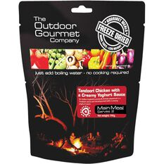 Outdoor Gourmet Company Tandoori Chicken Freeze Dried Food 2 Serves, , bcf_hi-res