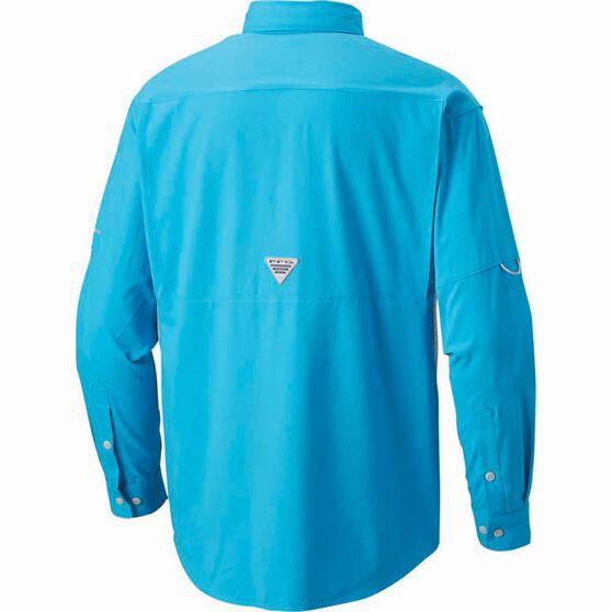 Columbia Men's Cast Away Zero II Long Sleeve Shirt, Blue Chill, bcf_hi-res