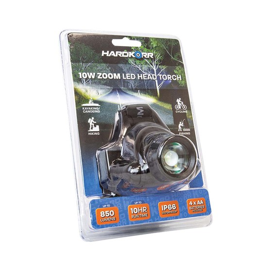 Hardkorr Cree LED Zoom Headlamp 10W, , bcf_hi-res