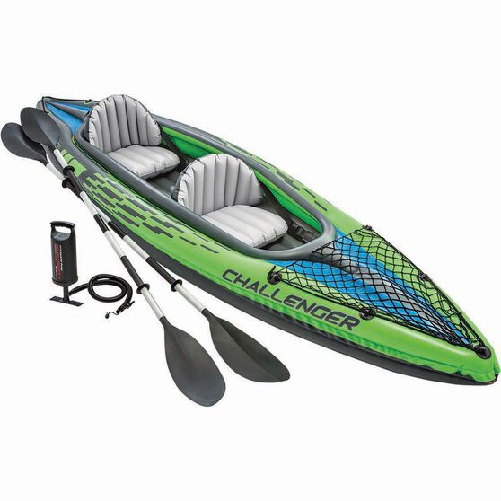Intex Challenger Inflatable 2 Person Kayak, , bcf_hi-res