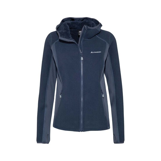 Macpac Women's Mountain Hooded Jacket, Black Iris, bcf_hi-res