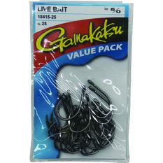 Gamakatsu Live Bait Hook 25 Pack, , bcf_hi-res