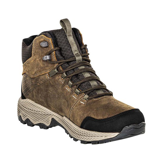 Merrell Men's Forestbound Mid Waterproof Hiking Boots, Cloudy, bcf_hi-res