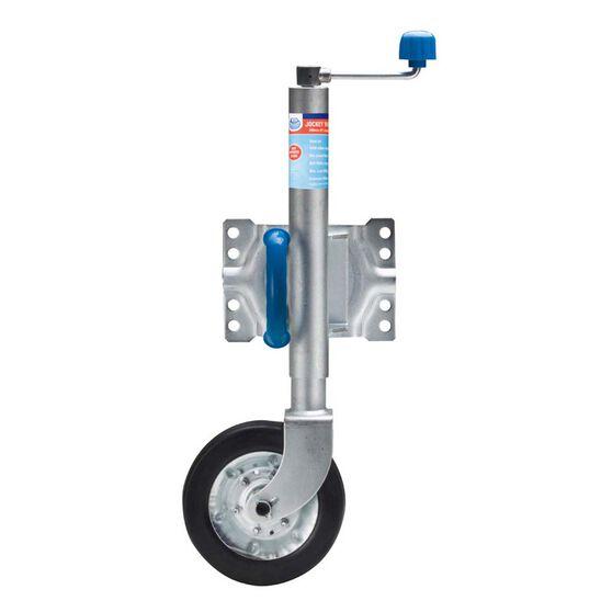 Jockey Wheel Swing 200mm, , bcf_hi-res