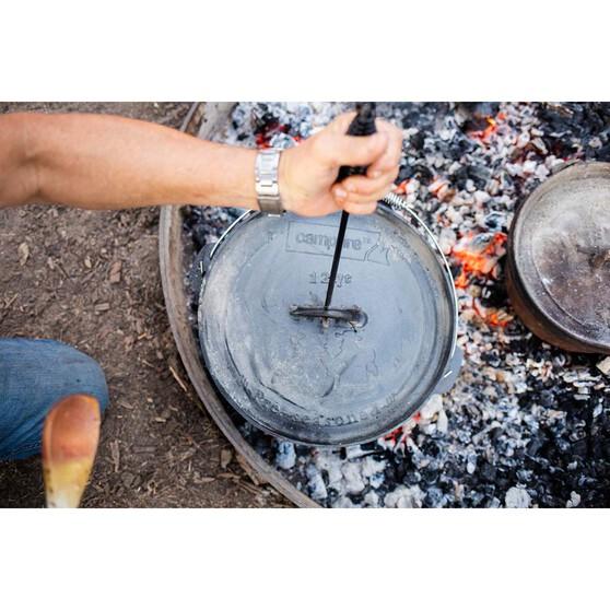 Campfire Pre Seasoned Cast Iron Camp Oven 12 Quart, , bcf_hi-res