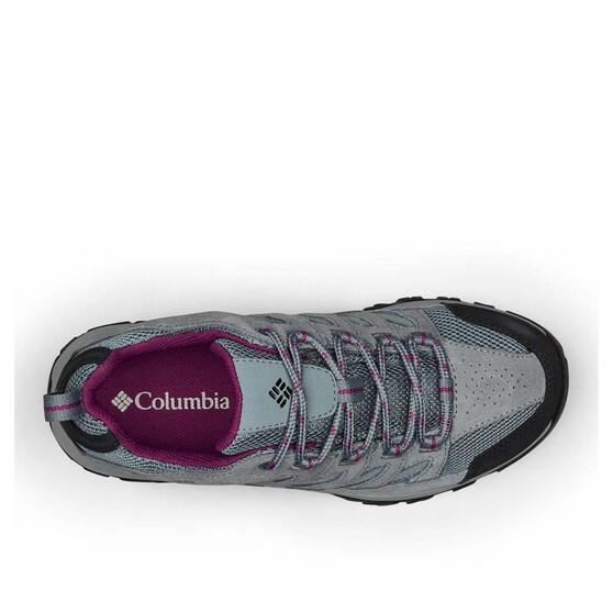 Columbia Women's Crestwood Low Hiker Shoes, Graphite / Wild Iris, bcf_hi-res