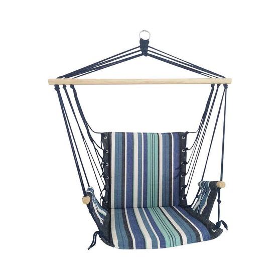 Wanderer Summer Stripe Hanging Chair, , bcf_hi-res