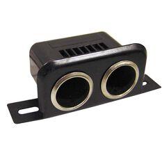 Battery Link Dual Cigarette Lighter Socket, , bcf_hi-res