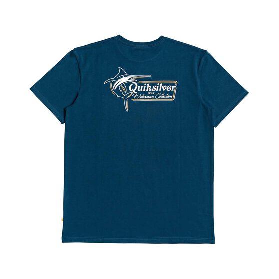 Quiksilver Waterman Men's Alatu Tee, Majolica Blue, bcf_hi-res